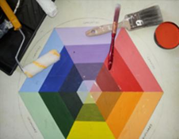Logo colour wheel