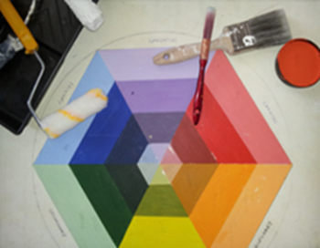 Logo colour wheel